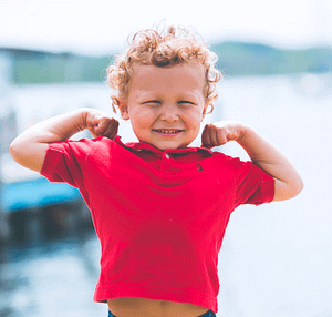 biceps kid