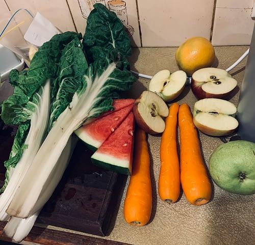 Fruit Vegetables Juice